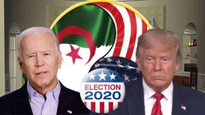 impact élection américaine Algérie