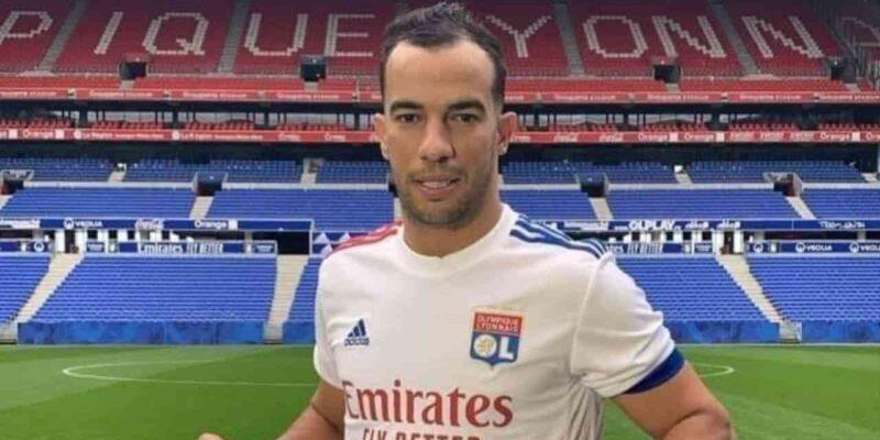 Djamel Benlamri Olympique Lyonnais