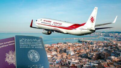 air algérie ouverture frontières