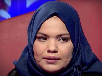 Algérie fille accouche