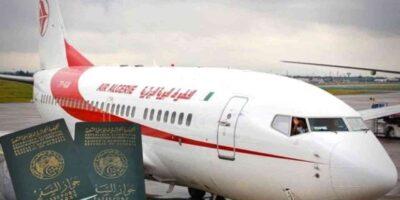 Algérie passeport ouverture frontières
