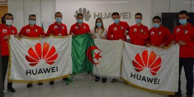 étudiants algériens TIC Huawei