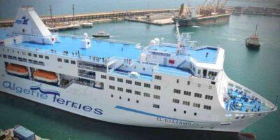 Frontières Algérie ferries