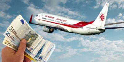 algérie reprise vols devise