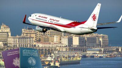 algérie reprise vols air
