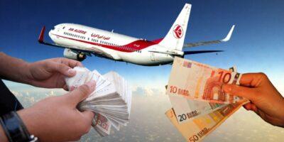 reprise vols dinars algériens