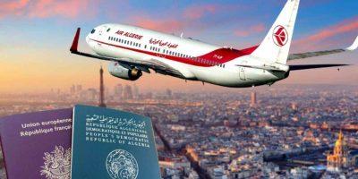 air algérie vols frontières