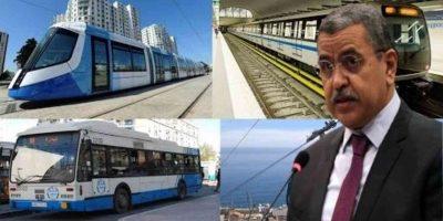 Algérie transport inter wilayas
