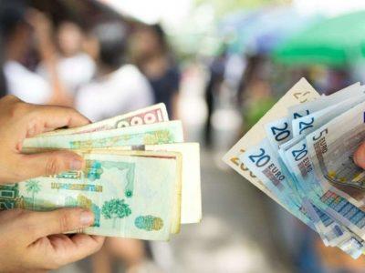 devises algérie euro dinar