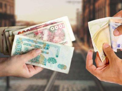 euro dinar algérien frontières