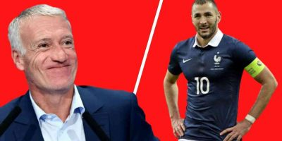 Deschamps Benzema France